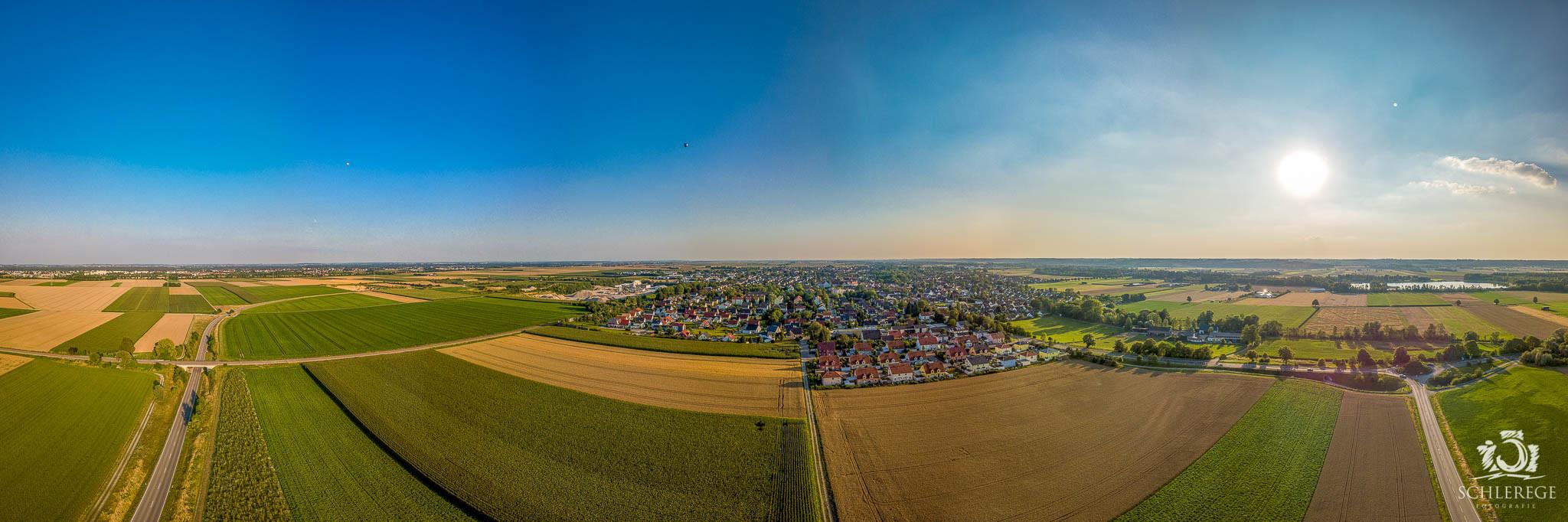 Panorama von Bobingen