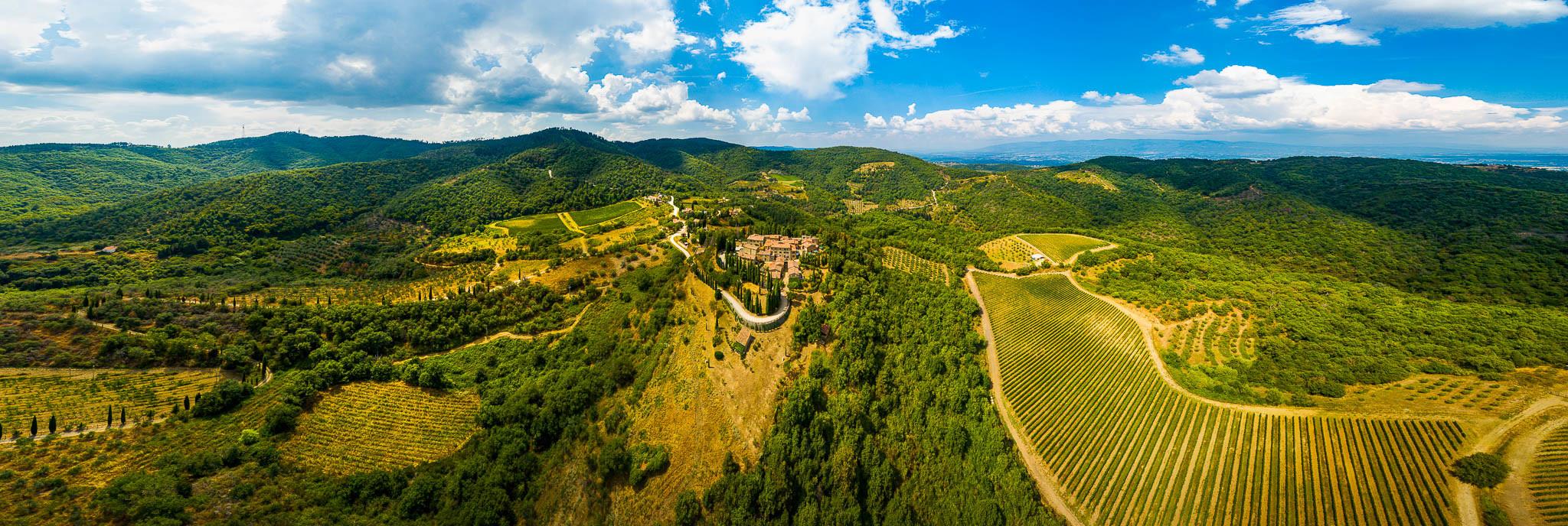 Castello di Starda - Panorama Aufnahme